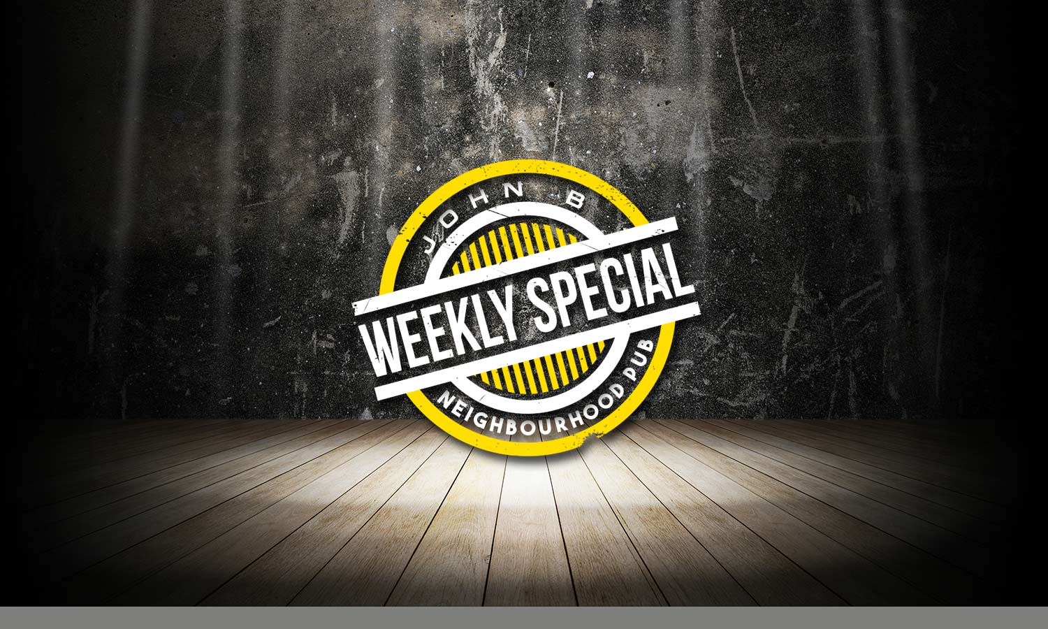 Weekly Special – Front